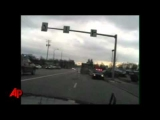 Raw Video: Police Chase Teen in Dump Truck