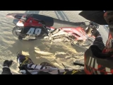 Dirt Bike Go Pro CRASHES At The Dunes
