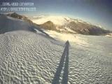 ski accident at Hintertux, Austria 14.11.2010 with GoPro HD camera