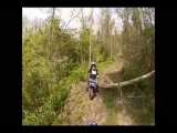Dirt biking Wipeout at Sylvan Go Pro,.wmv