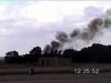 B 52 Huge RC plane crash