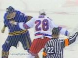 Colton Orr vs Andrew Peters Oct 14, 2006