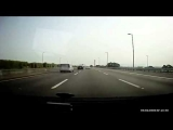 Brutal Accident – Two Car Crash On Highway and Flip Over