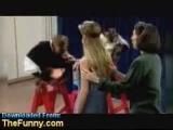 girl kisses monkey prank