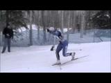 Ridiculous Ski Crash (es)