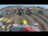 BRUTAL Motorcross Disaster! Rider Gets Trapped Under 2 Bikes!