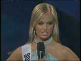 Miss Teen USA 2007 – South Carolina answers a question