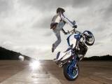 Mattie Griffin's F800R stunt bike
