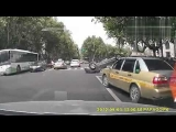 NEW scary car accident in China!Honda Civic crash(roll over)!