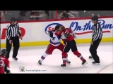 Brandon Prust vs Chris Neil Apr 23, 2012