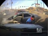 Horrific Police Chase Crash Caught on Tape