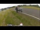 Go Pro CRASH – Pit Bike Supermoto Accident