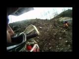 Dirt bike big crash in Broalhos (16-01-2011_13) hard enduro extreme GoPro helmet cam