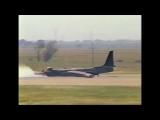 U-2 Landings, First Landing in U-2 and crash landings