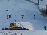 2010 Olympic Torch Freestyle ski Accident Lake Louise, Alberta Canada