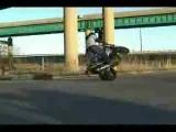 Motorcycle stunts gone wrong