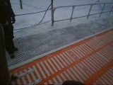 Funny Chair Lift Fall