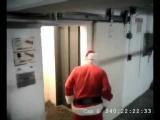 Drunk Santa CCTV Jingling All The way!