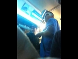 One of the top 10 bus drunks I've seen