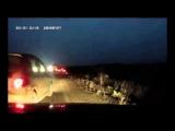 Crash – The car put on two wheels
