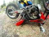 Drowned dirt bike 2007 Gas Gas EC300 – resuscitation