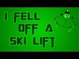 I Fell Off a Ski Lift!!  Life Story w/ Ryno!