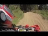 CR125 Dirt Bike CRASH