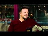 David Letterman – Ricky Gervais's Practical Jokes