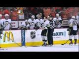 3rd period brawl. Pittsburgh Penguins vs Philadelphia Flyers 4/15/12 NHL Hockey