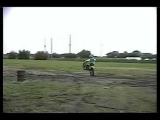Dirtbike Wipeout Reverse
