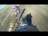 Scary Motorcross Crash