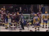 Amazing hockey fights ! HC PSG Zln vs. HC Sparta Praha
