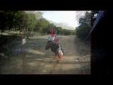 Dirt Bike Wheelie CRASH POV HI-DEF