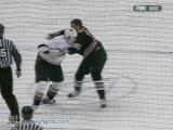 Travis Moen vs Matt Bradley Dec 8, 2006