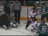 Coyotes vs Sharks Dec 20, 2007