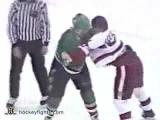 Basil McRae vs Joey Kocur Feb 16, 1991