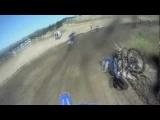 Painful Dirt Bike Crash – Guy Flys Over The Handle Bars