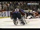 Detroit Red Wings vs Colorado Av's (FULL '97 brawl)