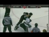 Doug Murray vs George Parros Apr 21, 2009