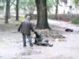 Russians DRUNK break – dance  (UMBRELLA)