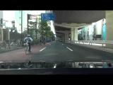 Japanese Police Bicycle Chase FAIL