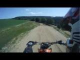 Big Motorcycle Crash! Back Wheel Hits The Riders Head!