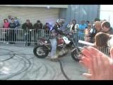 "BMW S1000RR Chris ""Teach"" McNeil Drifting and Stunting"