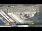 Los Angeles Police Chase 22May2012