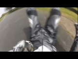 Pit Bike CRASH – Rider Looses Control Of Pit Bike
