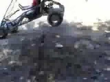 Dirtbike jumping