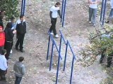 Street acrobats boys 15 years
