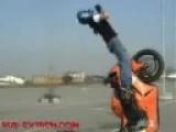 Motorcycle stunts & crashes