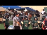 Youth Football Coach Slugs Referee (Video)