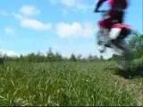 gravel pit madness! dirt bike, atv, crashes and jumps!